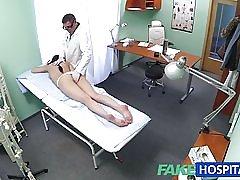 Fakehospital sexi pacient páči zozadu s ňou nové